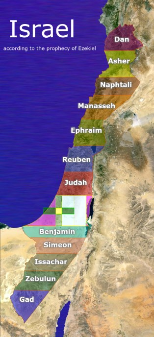Israel, according to Ezekiel's prophecy