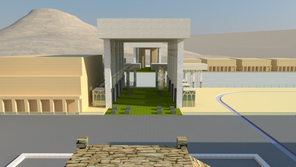 The Third Temple: the porches the north gate of the inner court. The prophecy of Ezekiel.